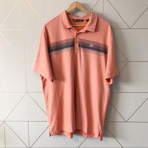 Travis Mathew Pima Cotton Blend Golf Shirt